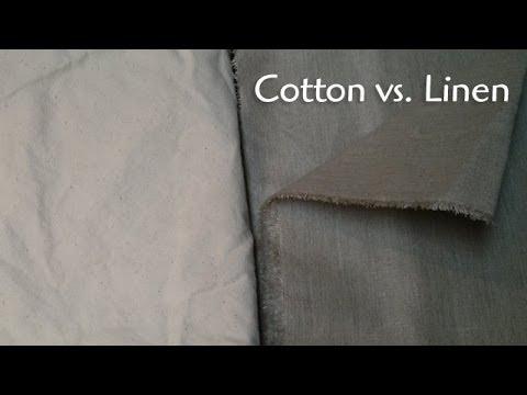 Linen Better Than Cotton Fabric